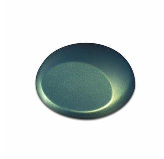 W353 Metallic Fastback Green