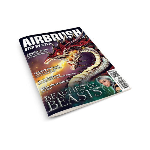 Airbrush Step by Step magazine Airbrush Step by Step magazine 61