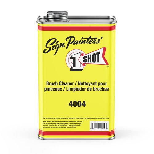 1 Shot 1 Shot 4004 Nettoyant pour Pinceaux 946 ml