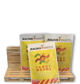Jealous sweets 2 + 1 Jealous Sweets Tangy Worms 40 gram