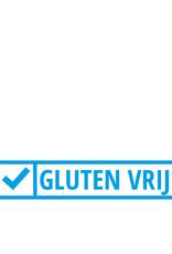 Stickers glutenvrij 4x2 cm, per 22 stuks