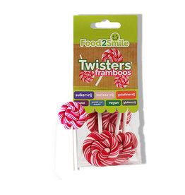 Lollies, twister framboos