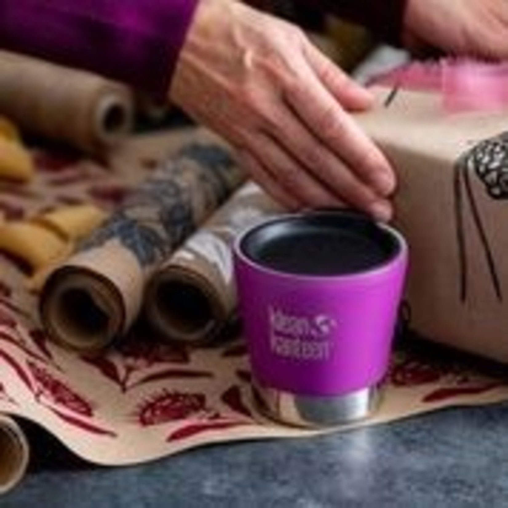 Geïsoleerde koffiebeker 237 ml met deksel