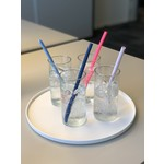 Squeaky Clean rietje per 3 stuks - siliconen