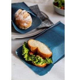 Beeswax - Herbruikbare snack & boterhamzak - Jeans