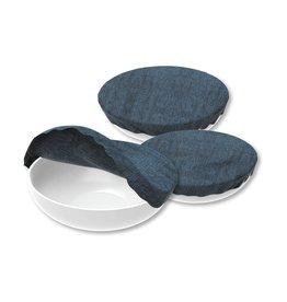 Beeswax - Herbruikbare schaal afsluiters - Jeans