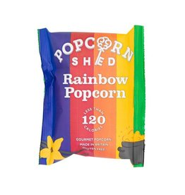 Popcorn Shed RAINBOW GOURMET  snack pack POPCORN