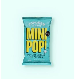 Popcorn Shed VEGAN MINI POP! SALT & VINEGAR - 22 GRAM
