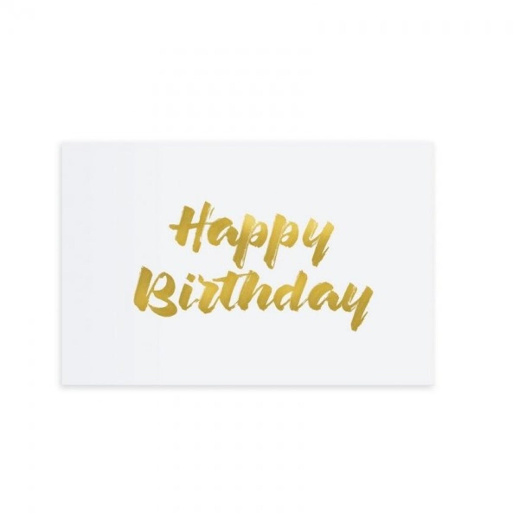 """Tafelgut Kaart """"Happy Birthday"""""""