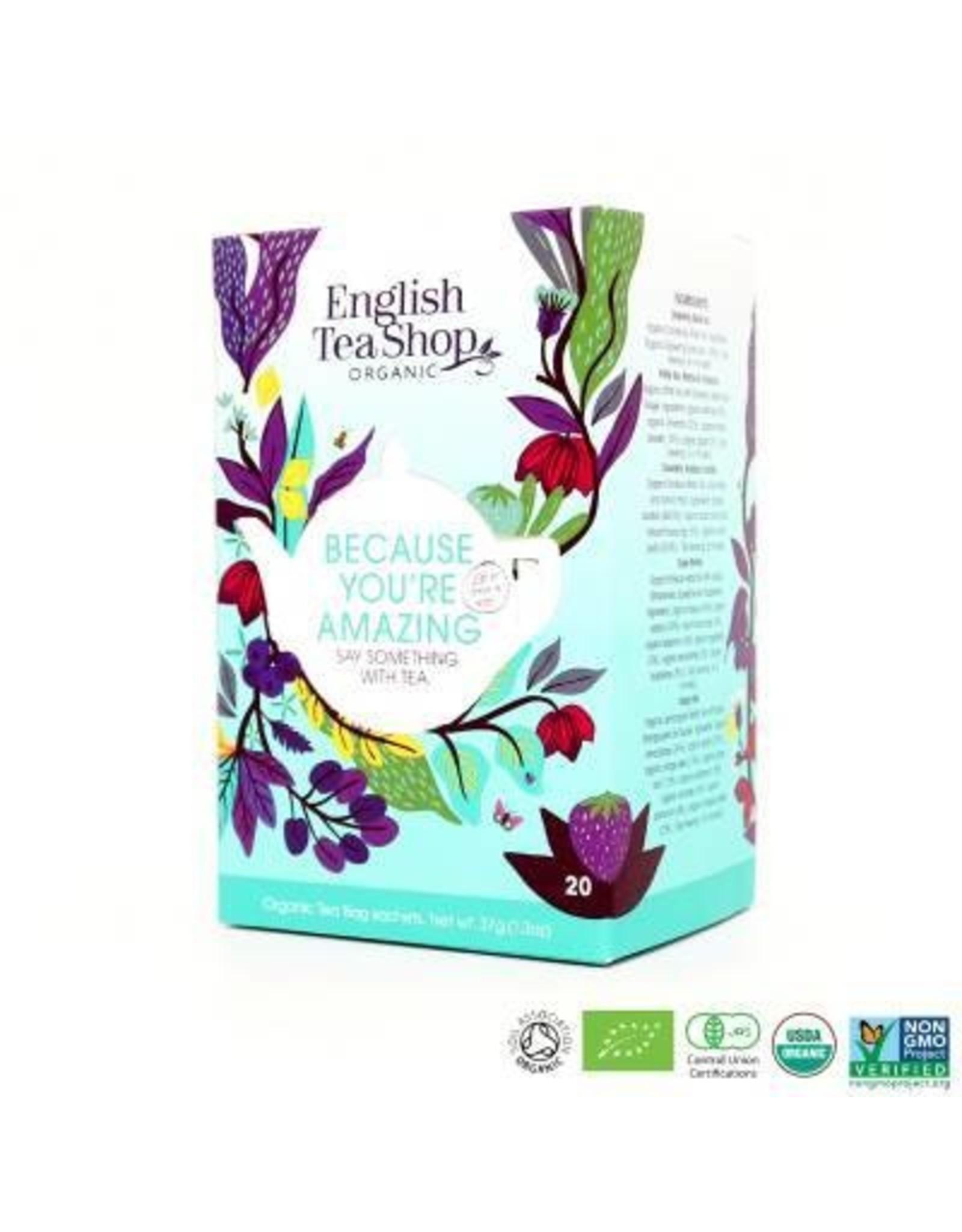 English tea shop Assortiment thee