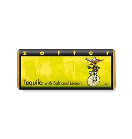 Zotter Chocolate Hand-scooped Tequila with salt and lemon BIO