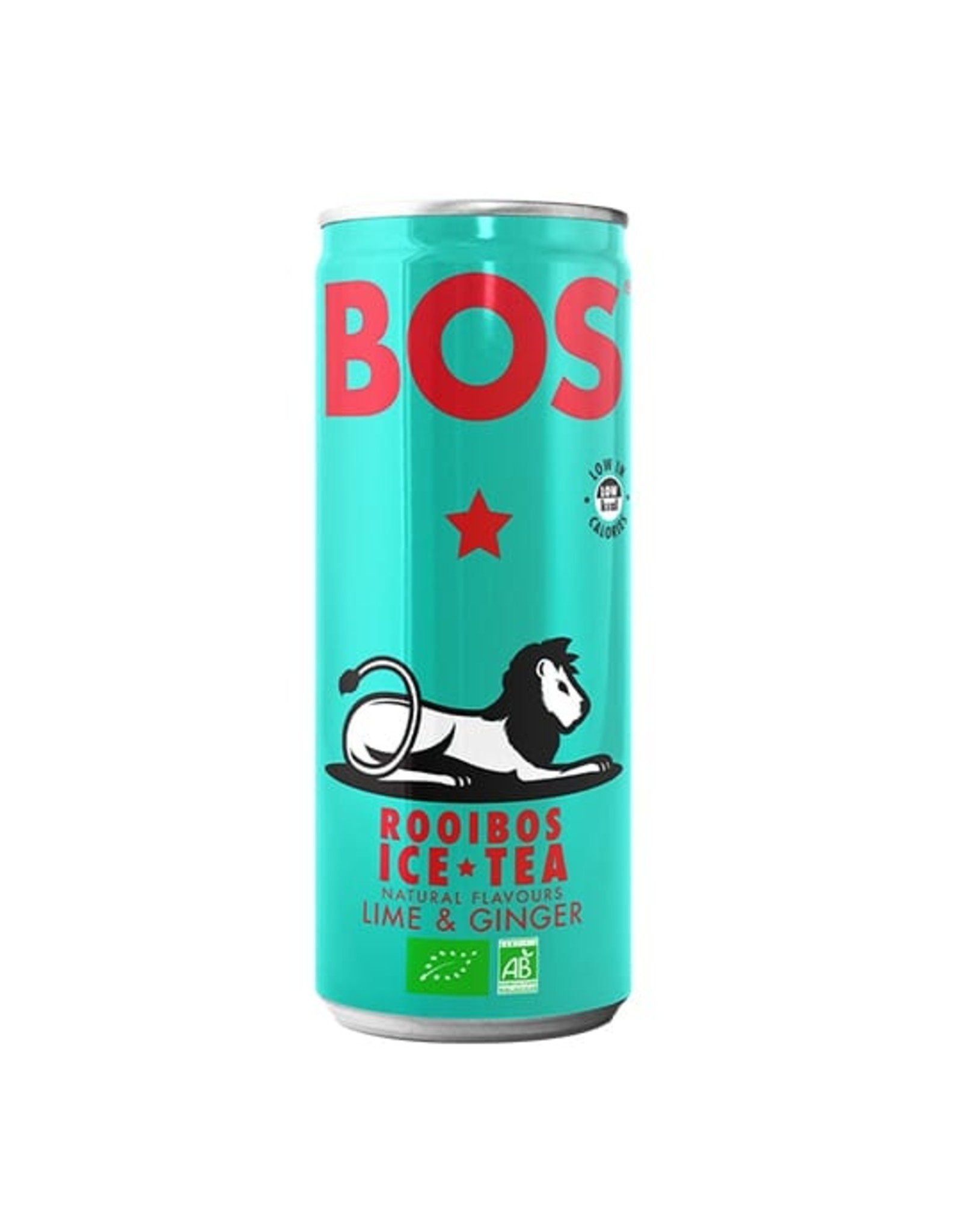 Rooibos Ice Tea - Lime & ginger, biologisch