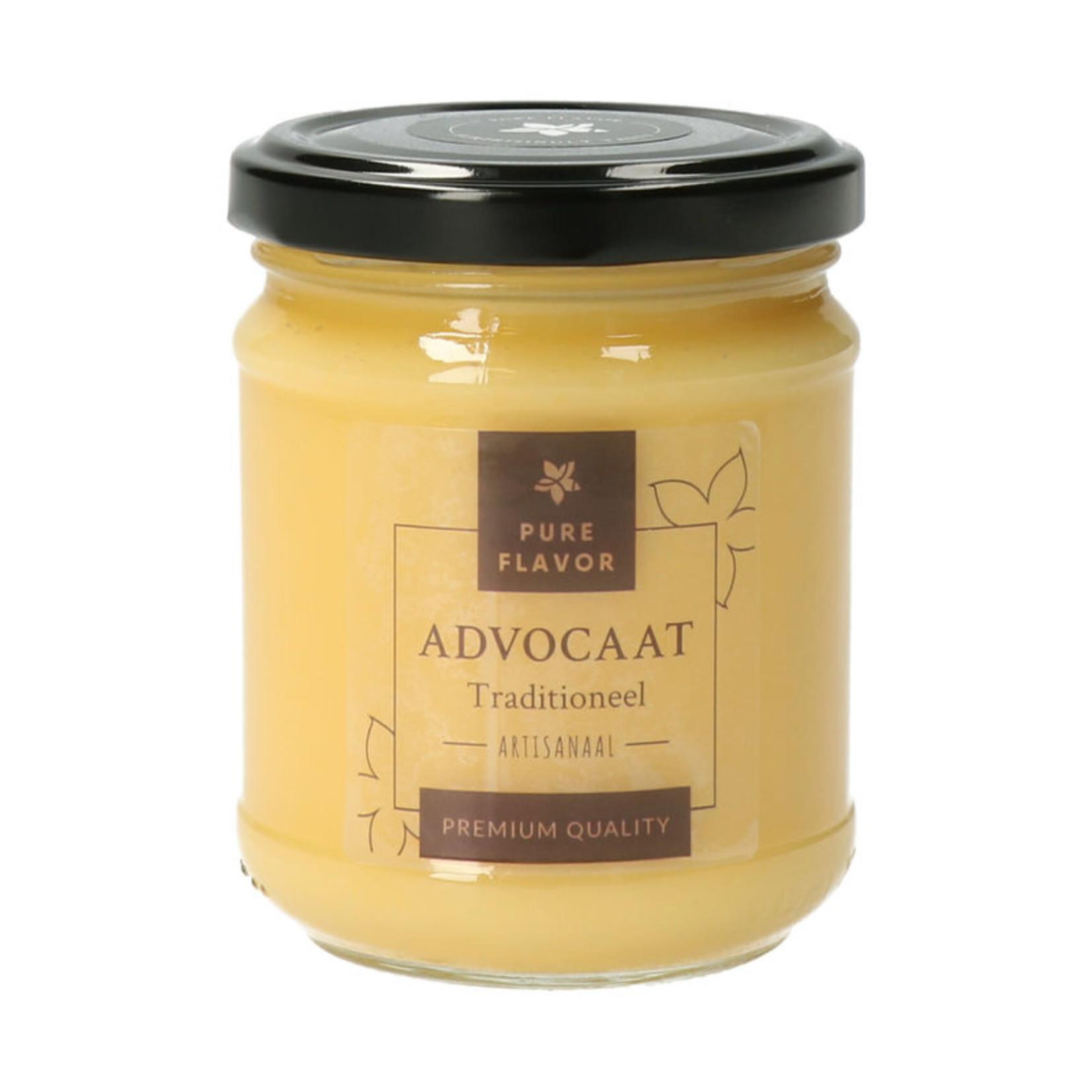 Pure Flavor Advocaat Amaretto 228ml