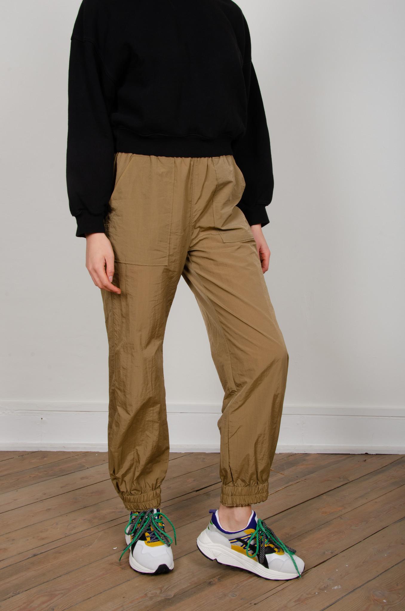CRINKLED TECH PANTS-7