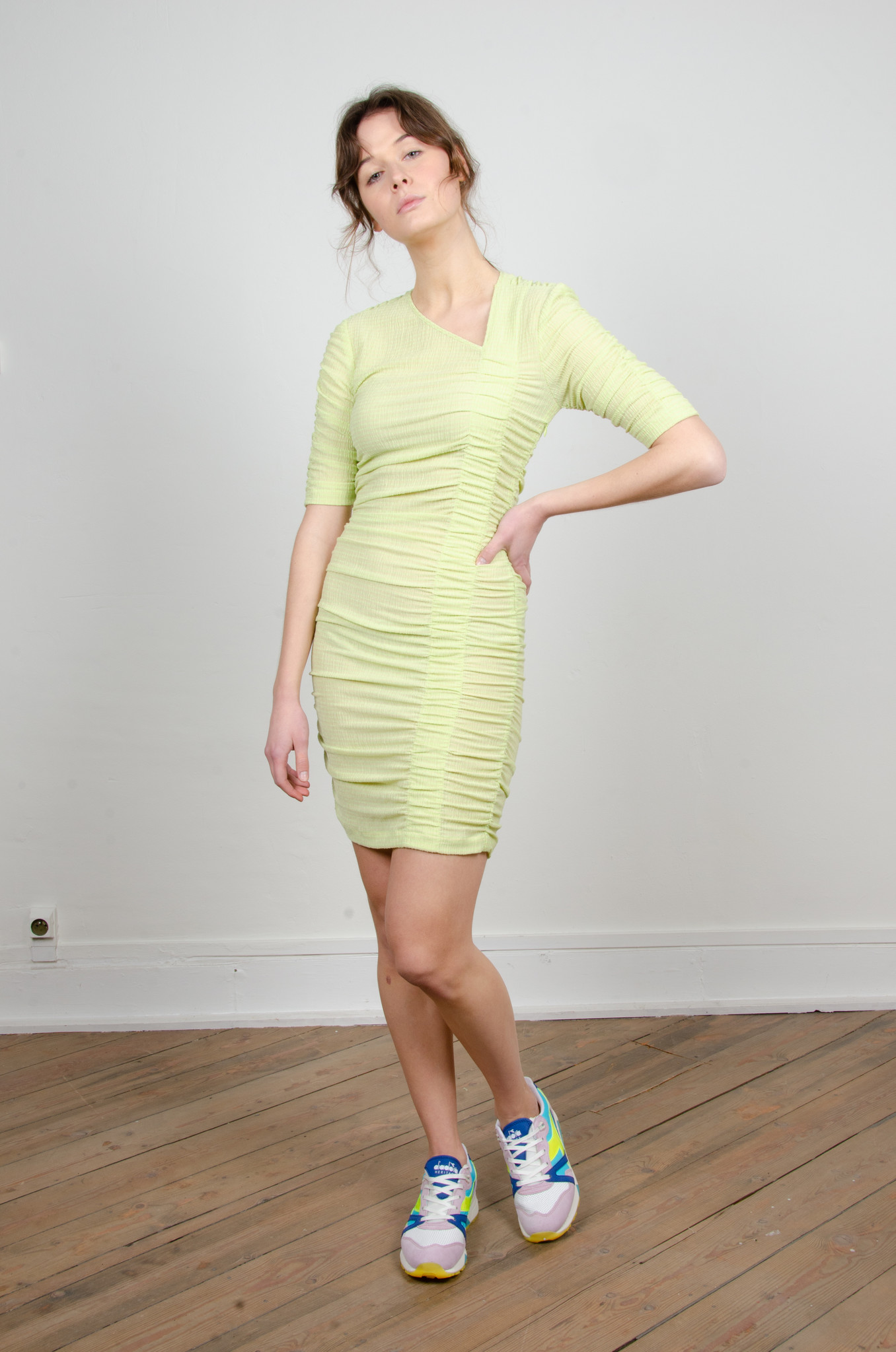 FINA FITTED DRESS-4