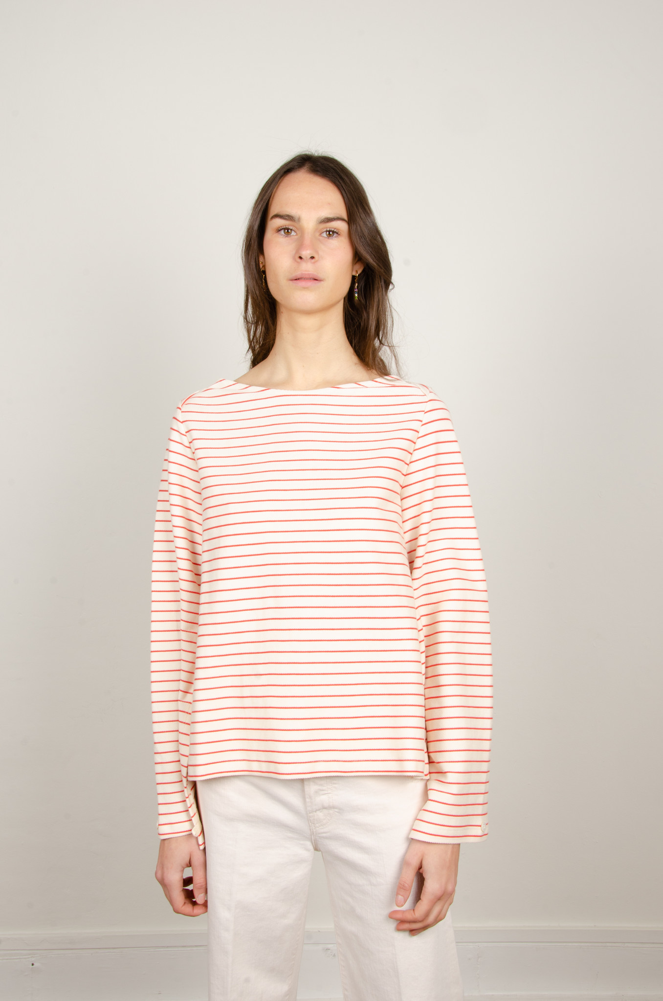 STRIPED OPEN-BACK TOP-1