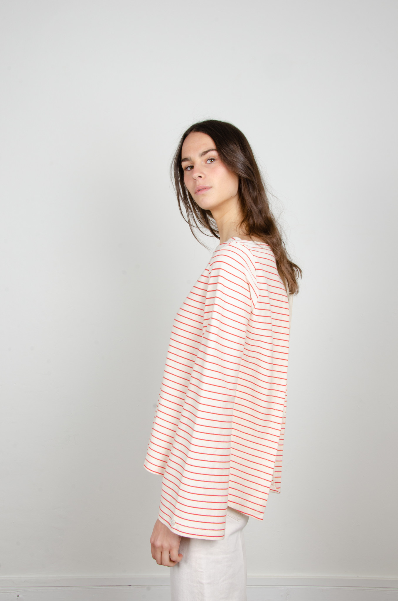 STRIPED OPEN-BACK TOP-2