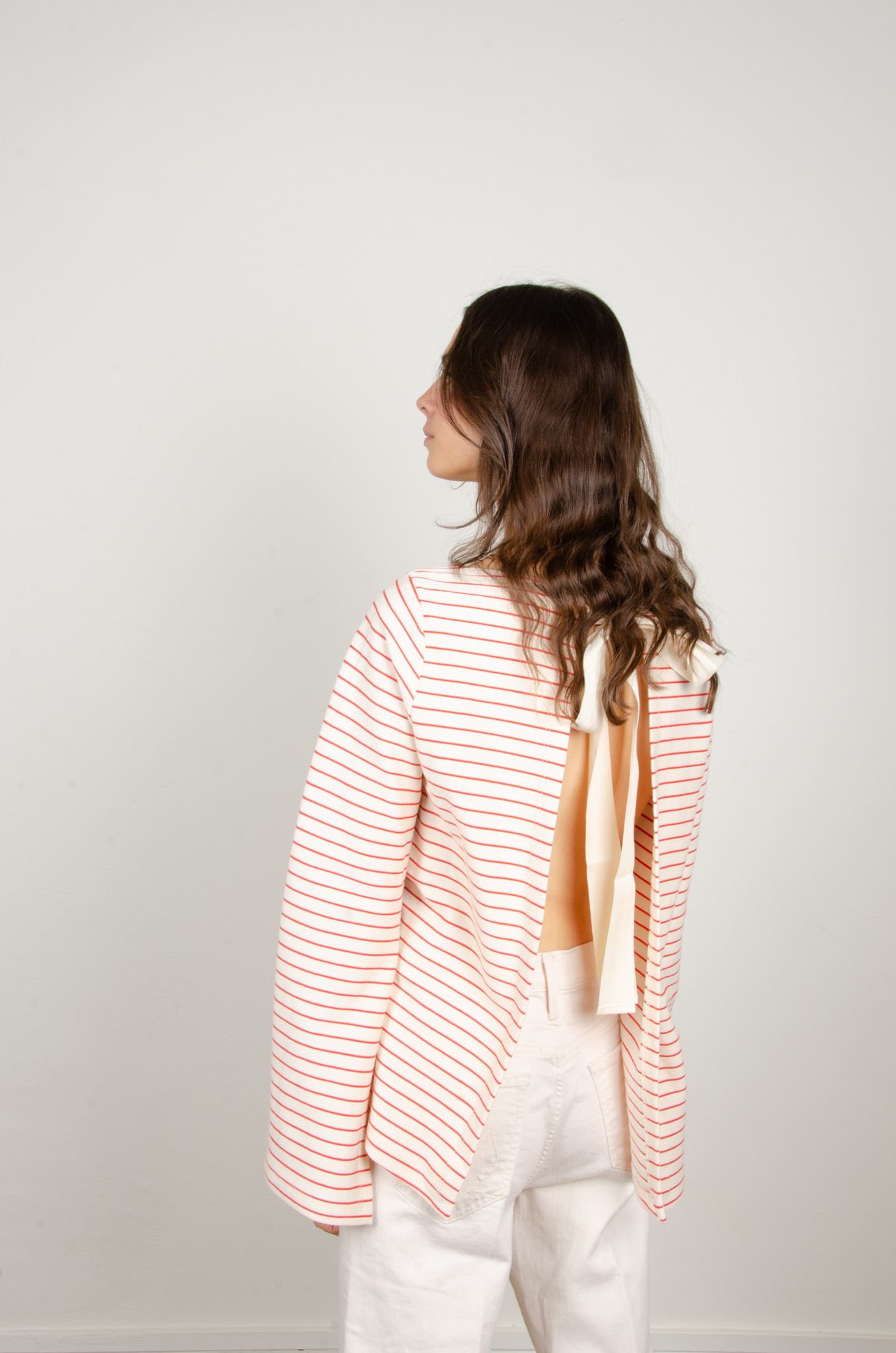 STRIPED OPEN-BACK TOP-3