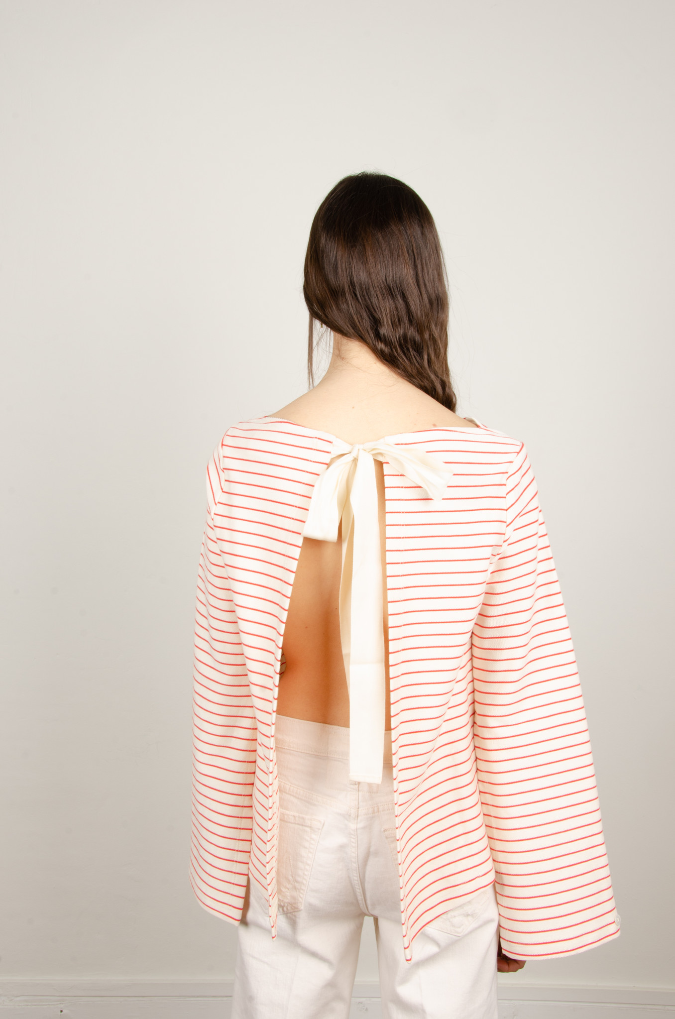 STRIPED OPEN-BACK TOP-4
