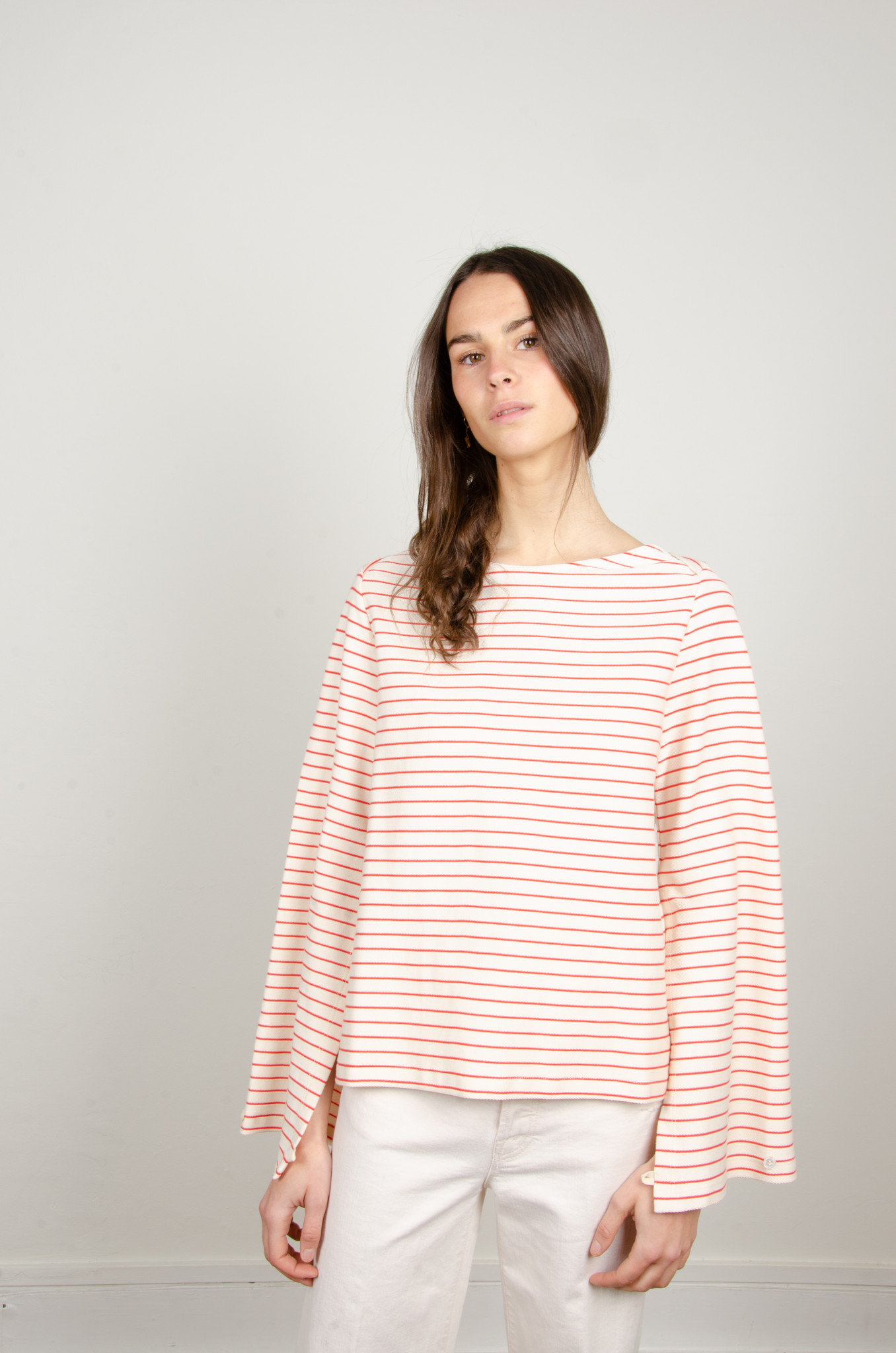 STRIPED OPEN-BACK TOP-5