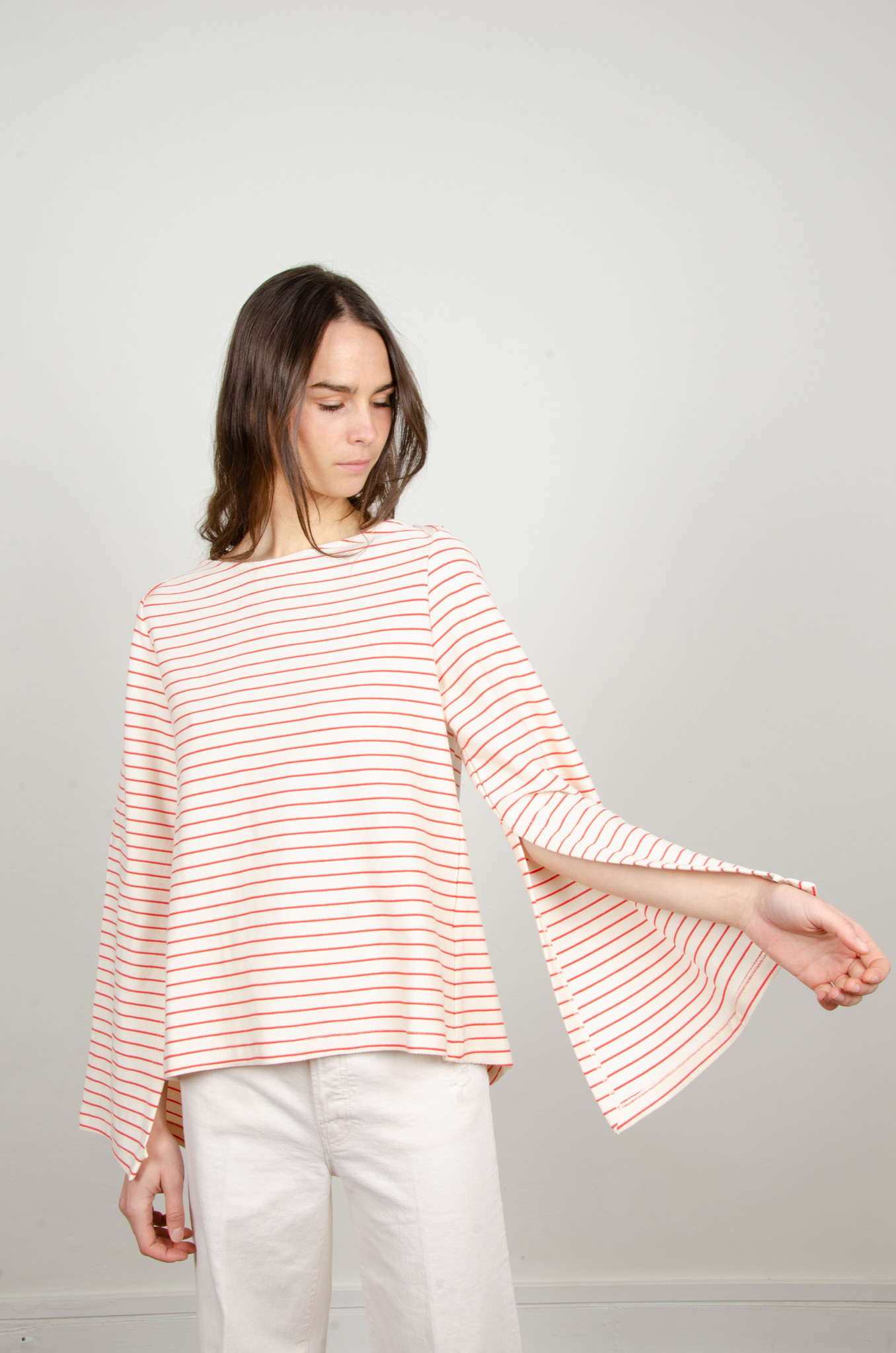 STRIPED OPEN-BACK TOP-6
