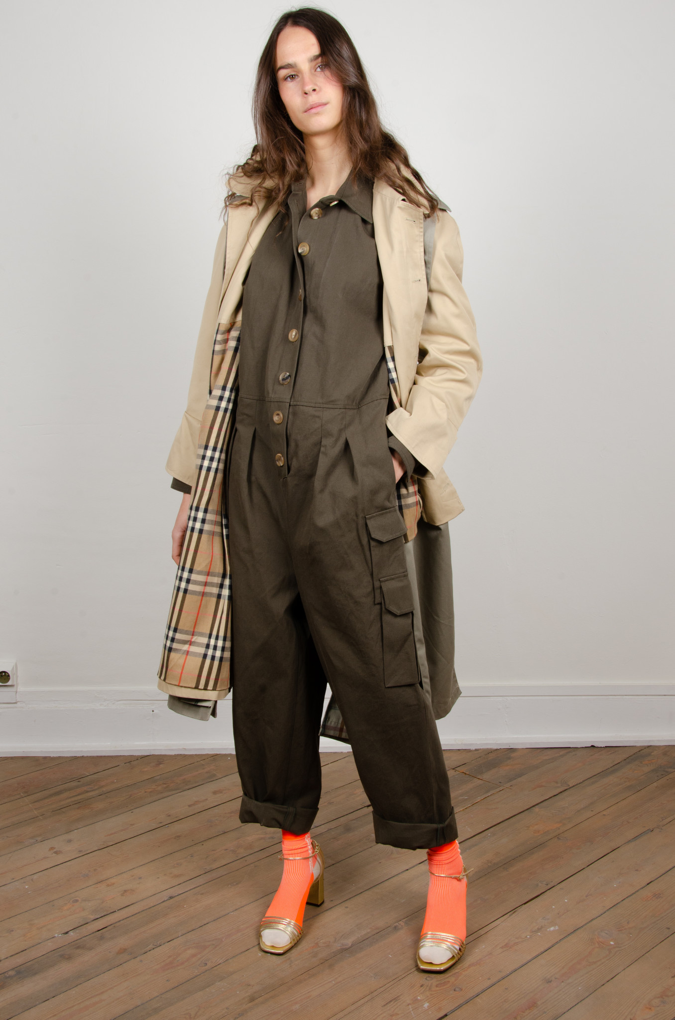 ORAL UPCYCLED TRENCHCOAT-7