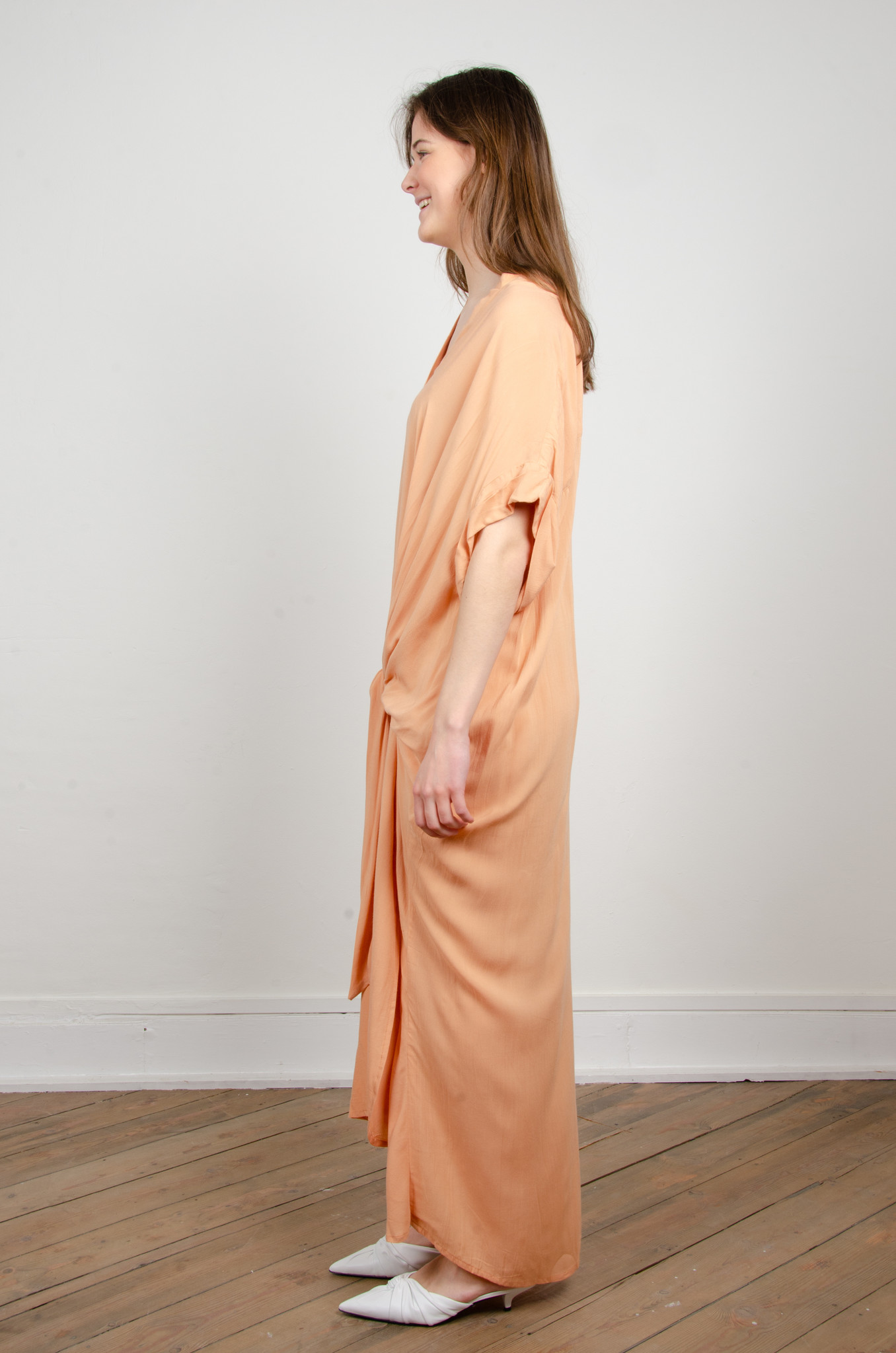 ROVENA DRESS CAMEL-2