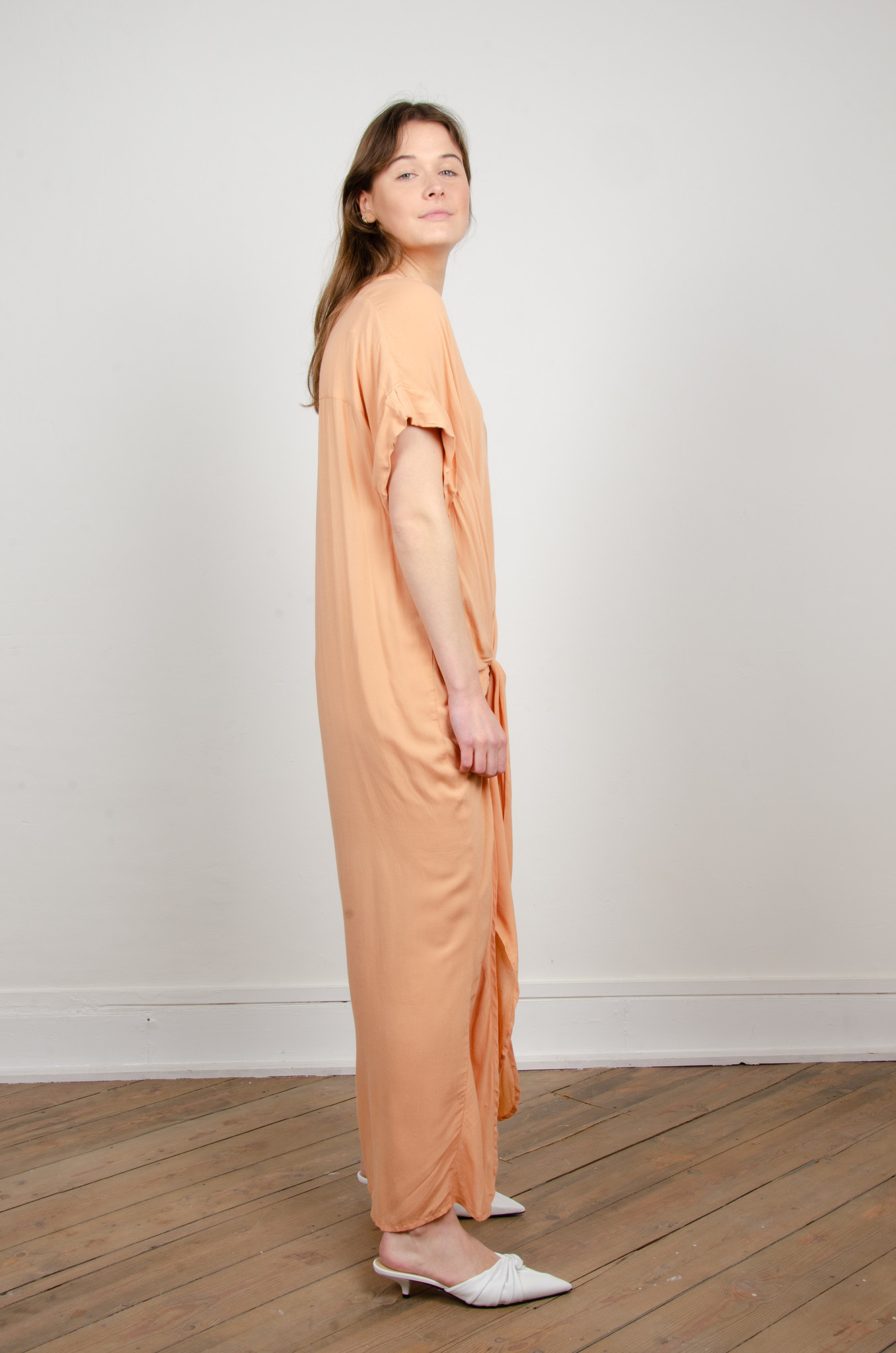 ROVENA DRESS CAMEL-4