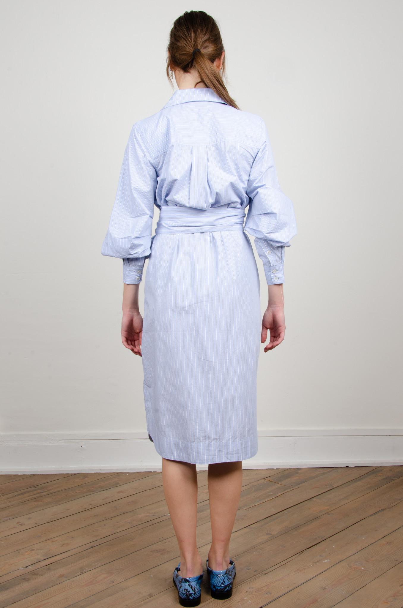 PINSTRIPE SHIRT DRESS-3