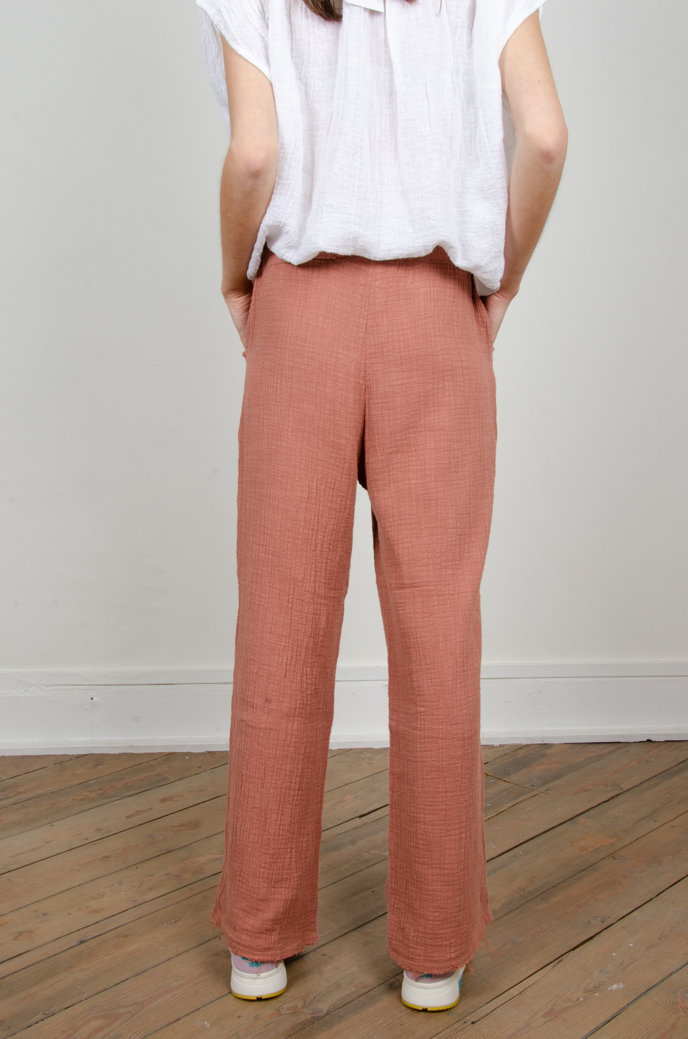 BAMBOO TROUSERS DARK OLD ROSE-3