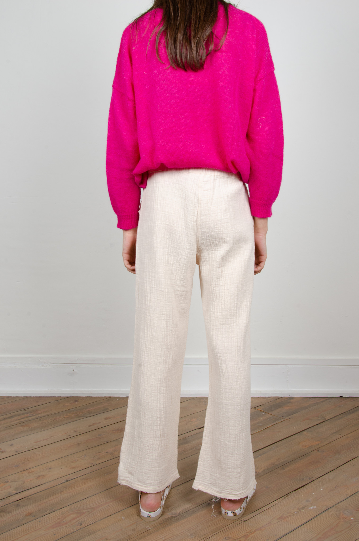 BAMBOO TROUSERS OAT-3