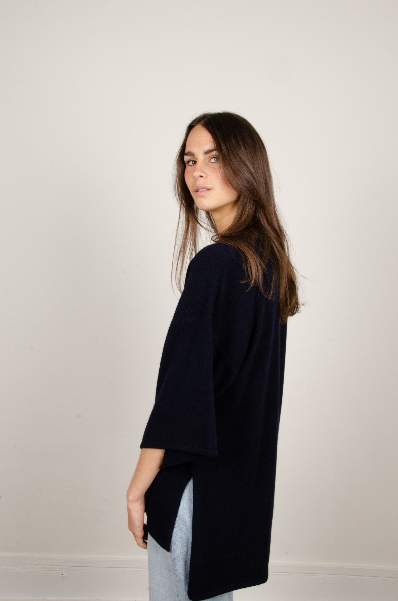 IRENE CASHMERE POLO KNIT-2