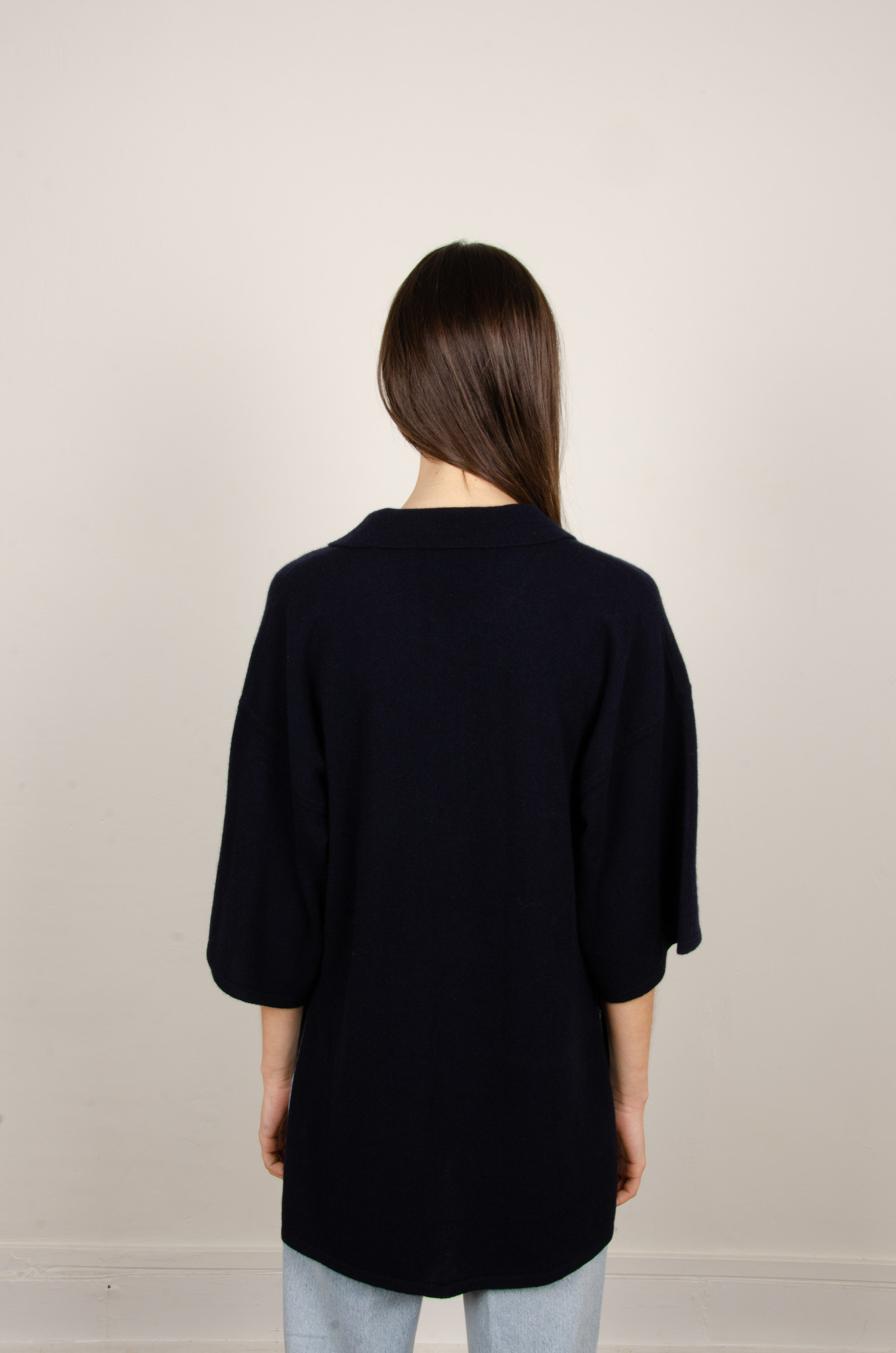 IRENE CASHMERE POLO KNIT-3