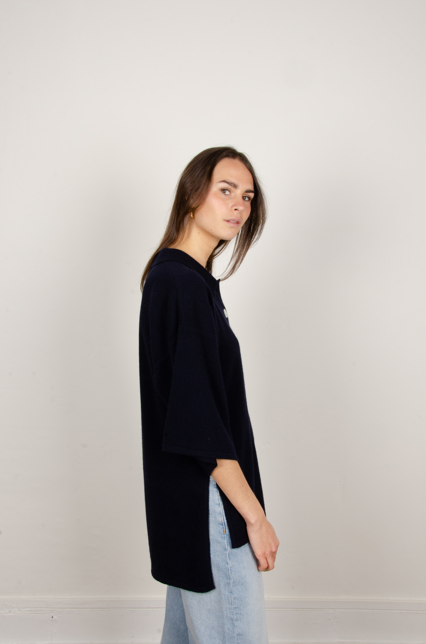 IRENE CASHMERE POLO KNIT-4