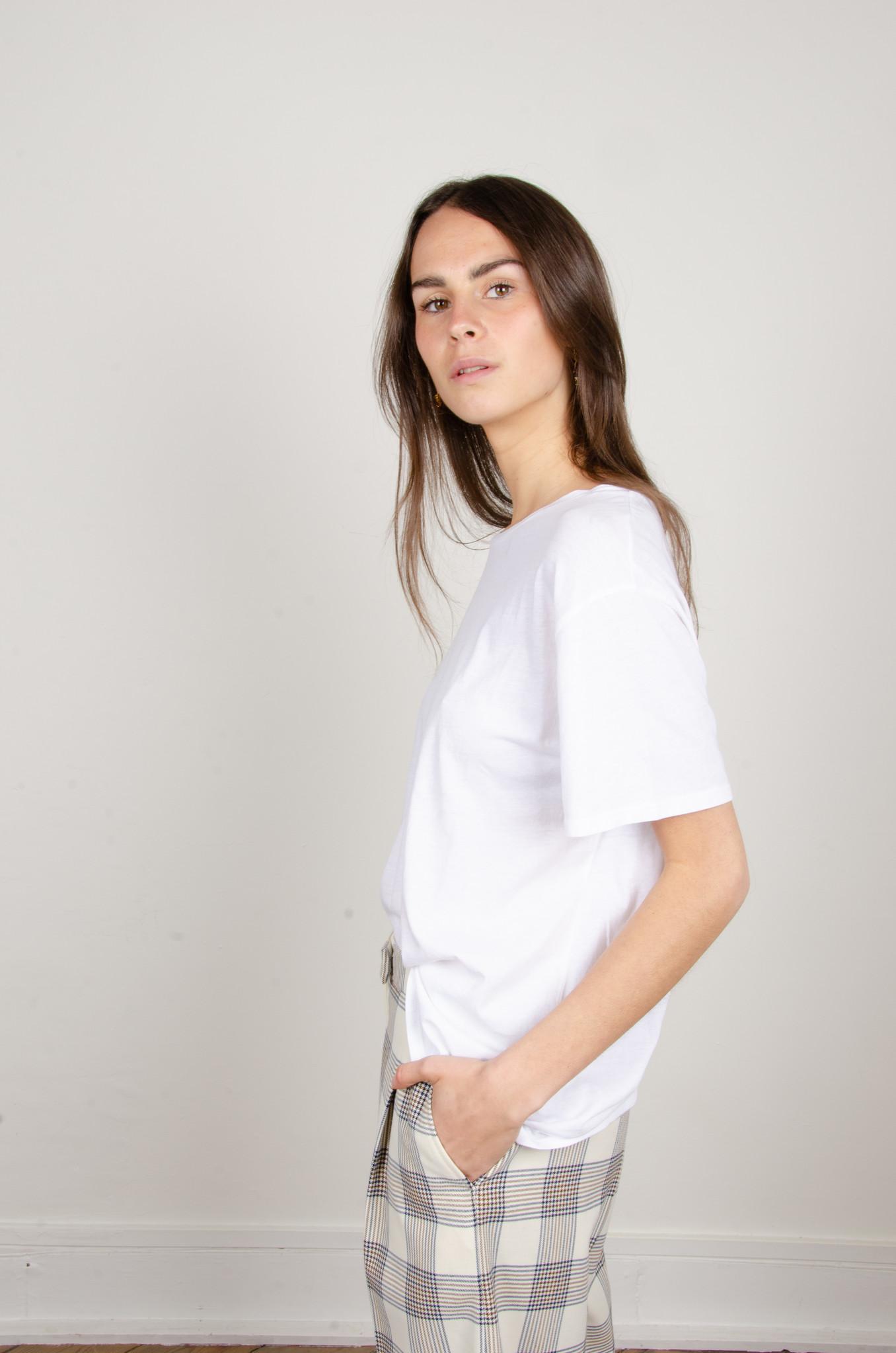 BOYFRIEND TEE WHITE-3