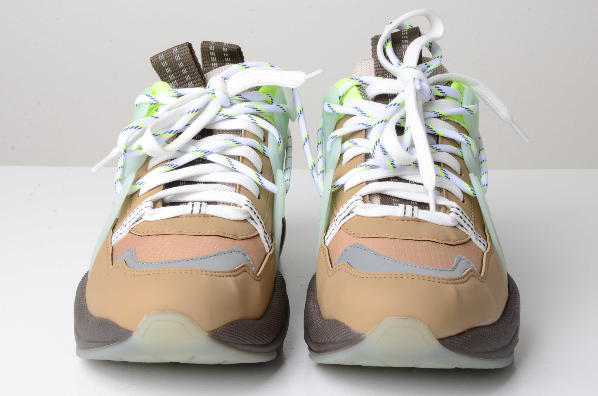 NEON PANELLED CHUNKY SNEAKERS-6