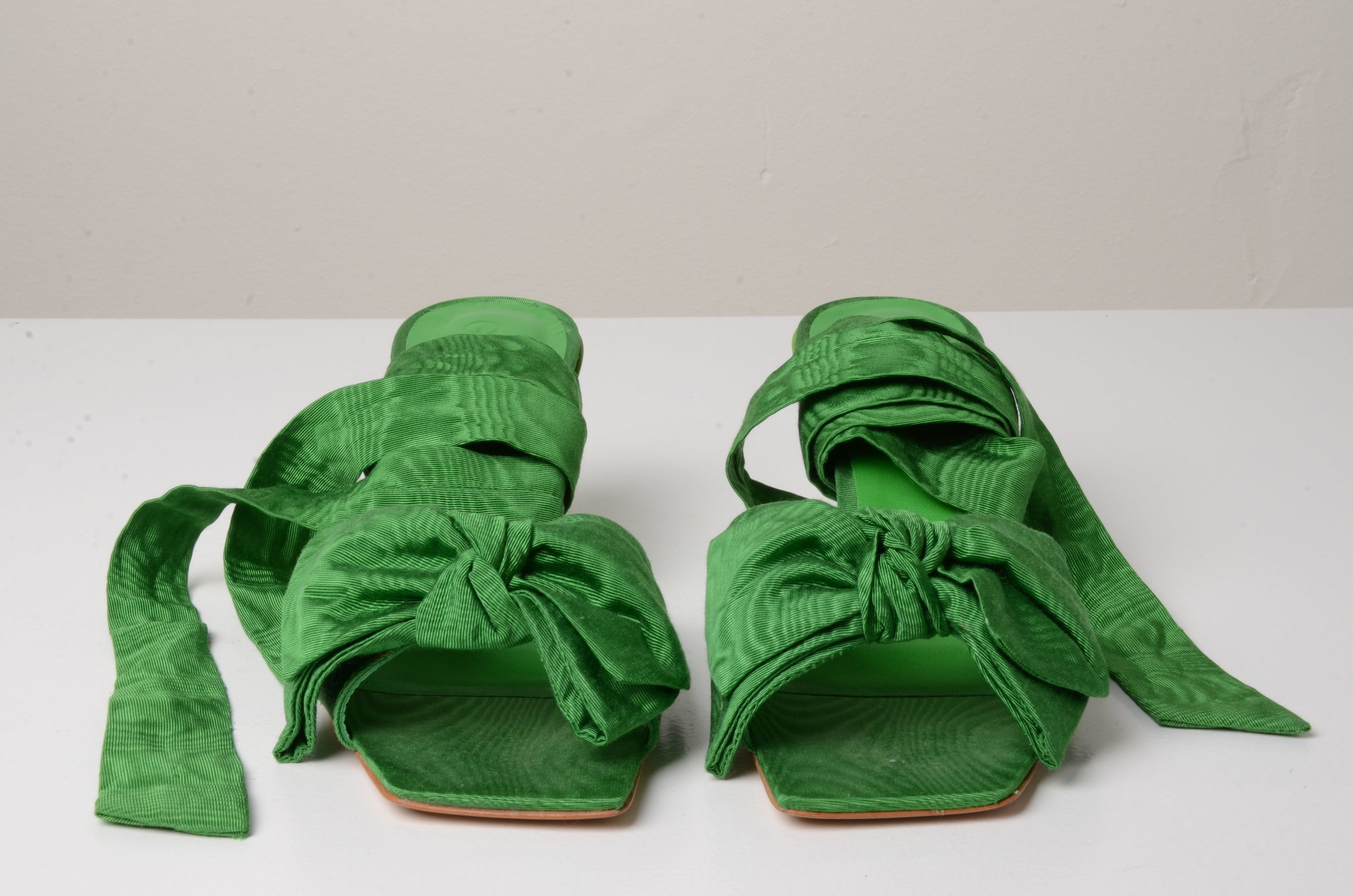 BOW TIE SANDAL GREEN-5