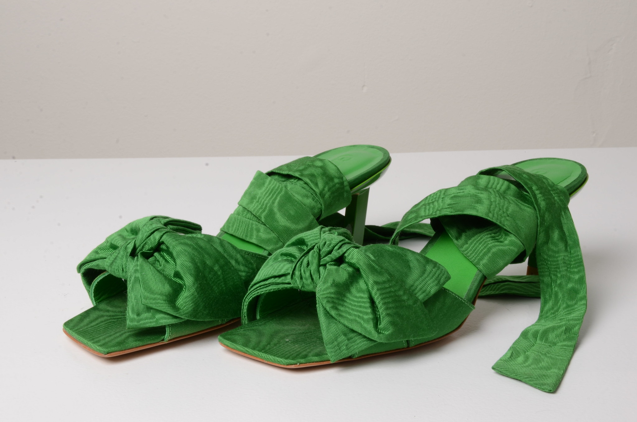 BOW TIE SANDAL GREEN-6