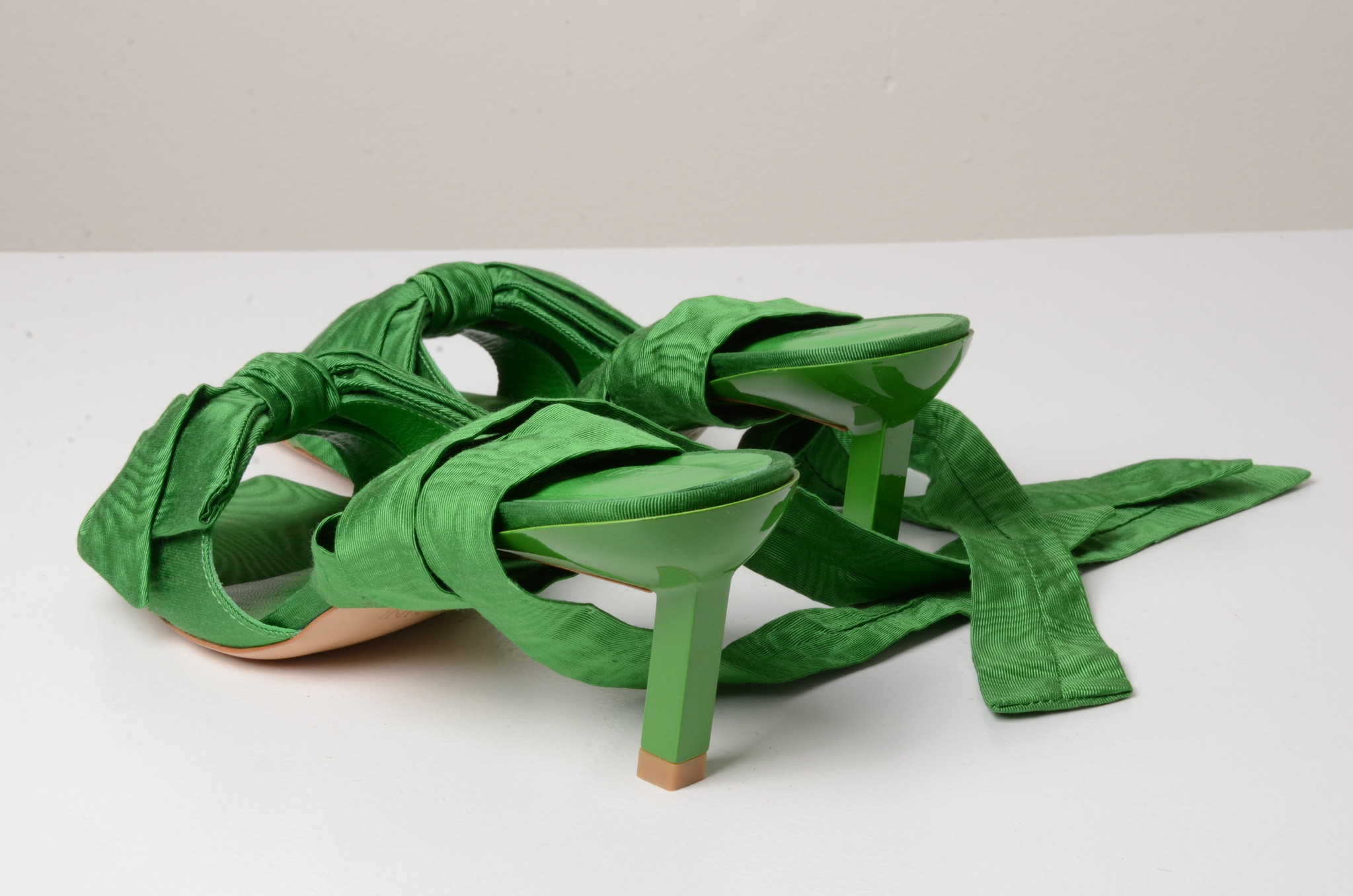 BOW TIE SANDAL GREEN-2