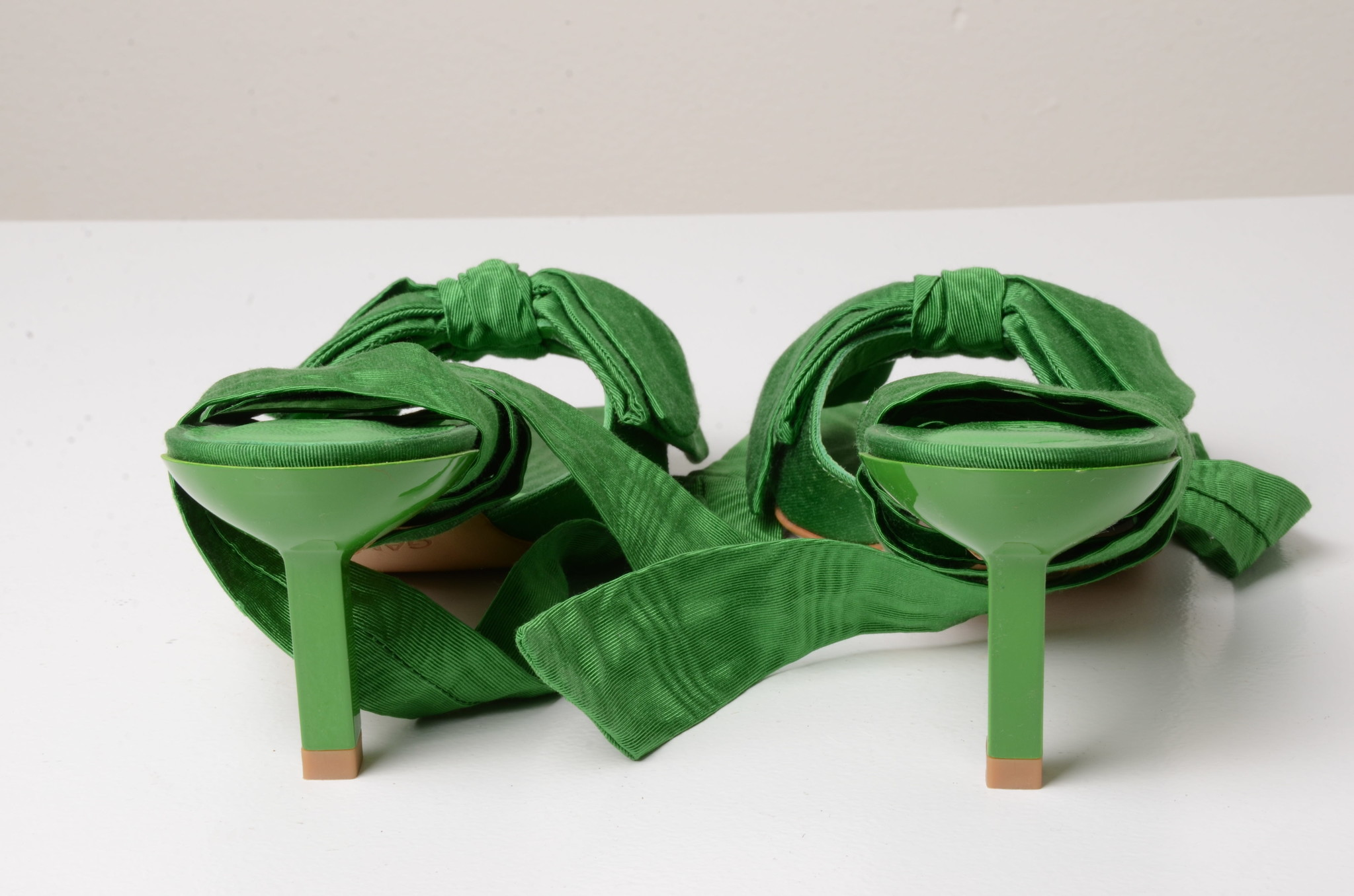 BOW TIE SANDAL GREEN-3