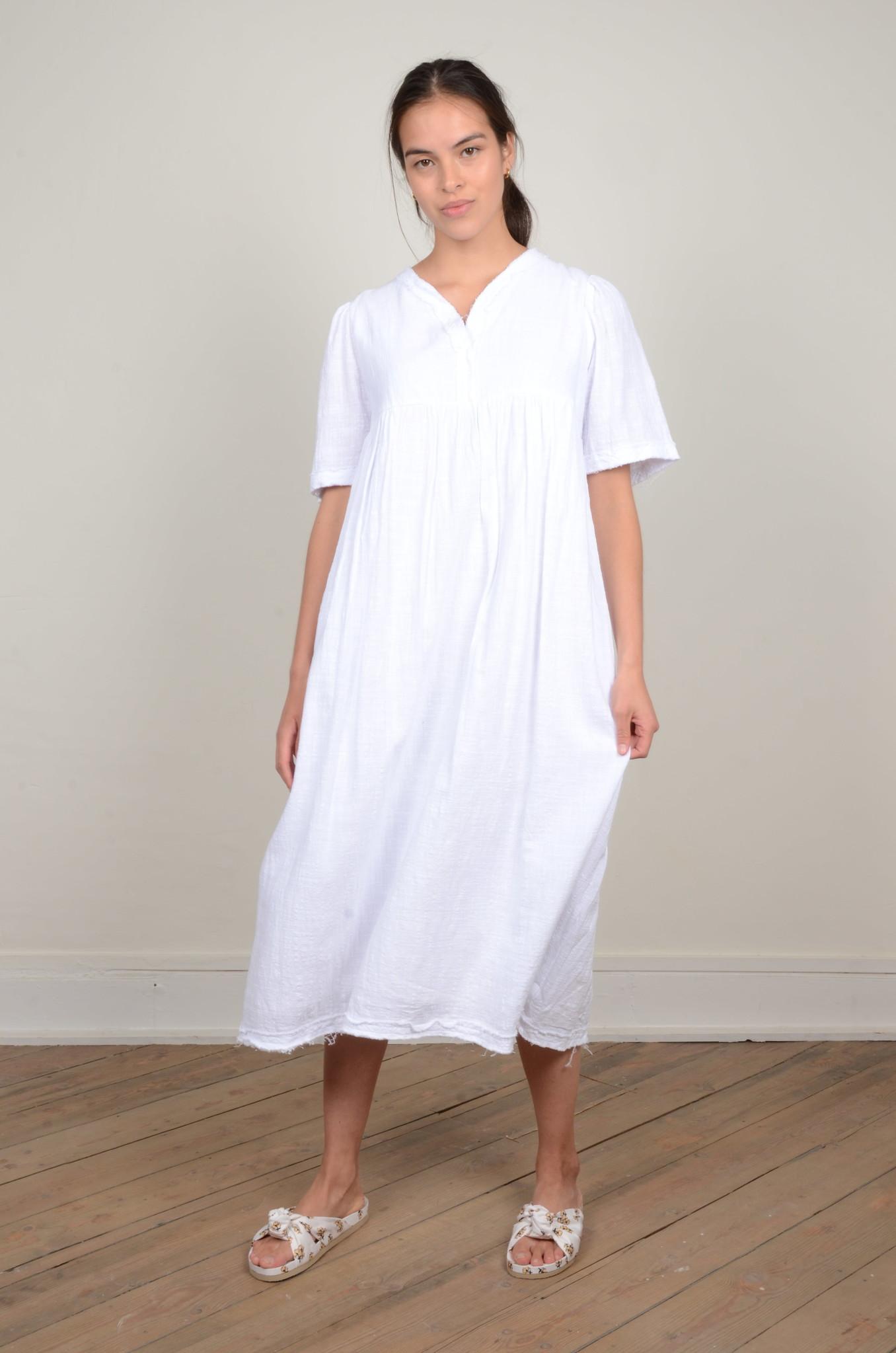 BYRON DRESS WHITE-1