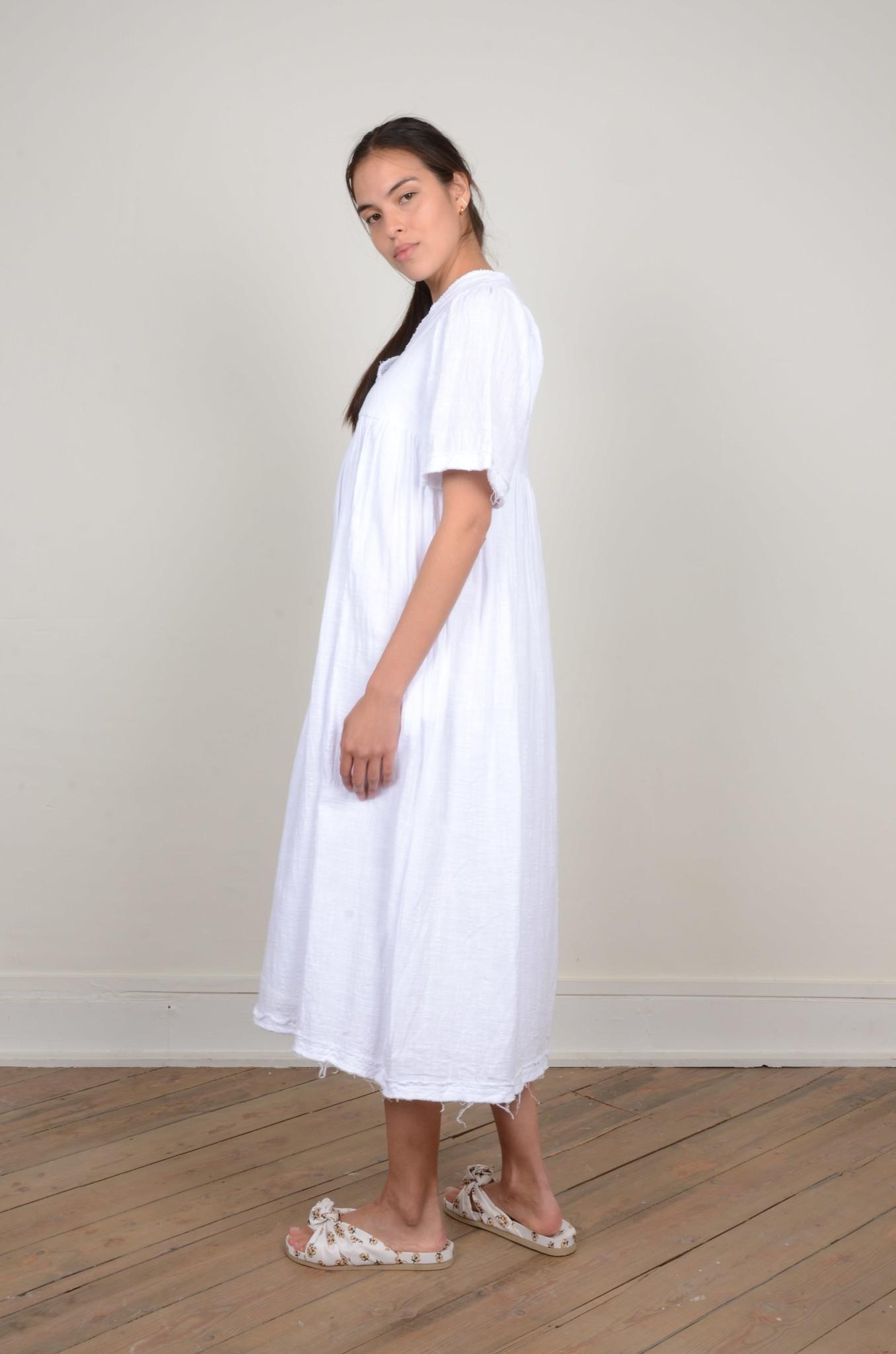 BYRON DRESS WHITE-2