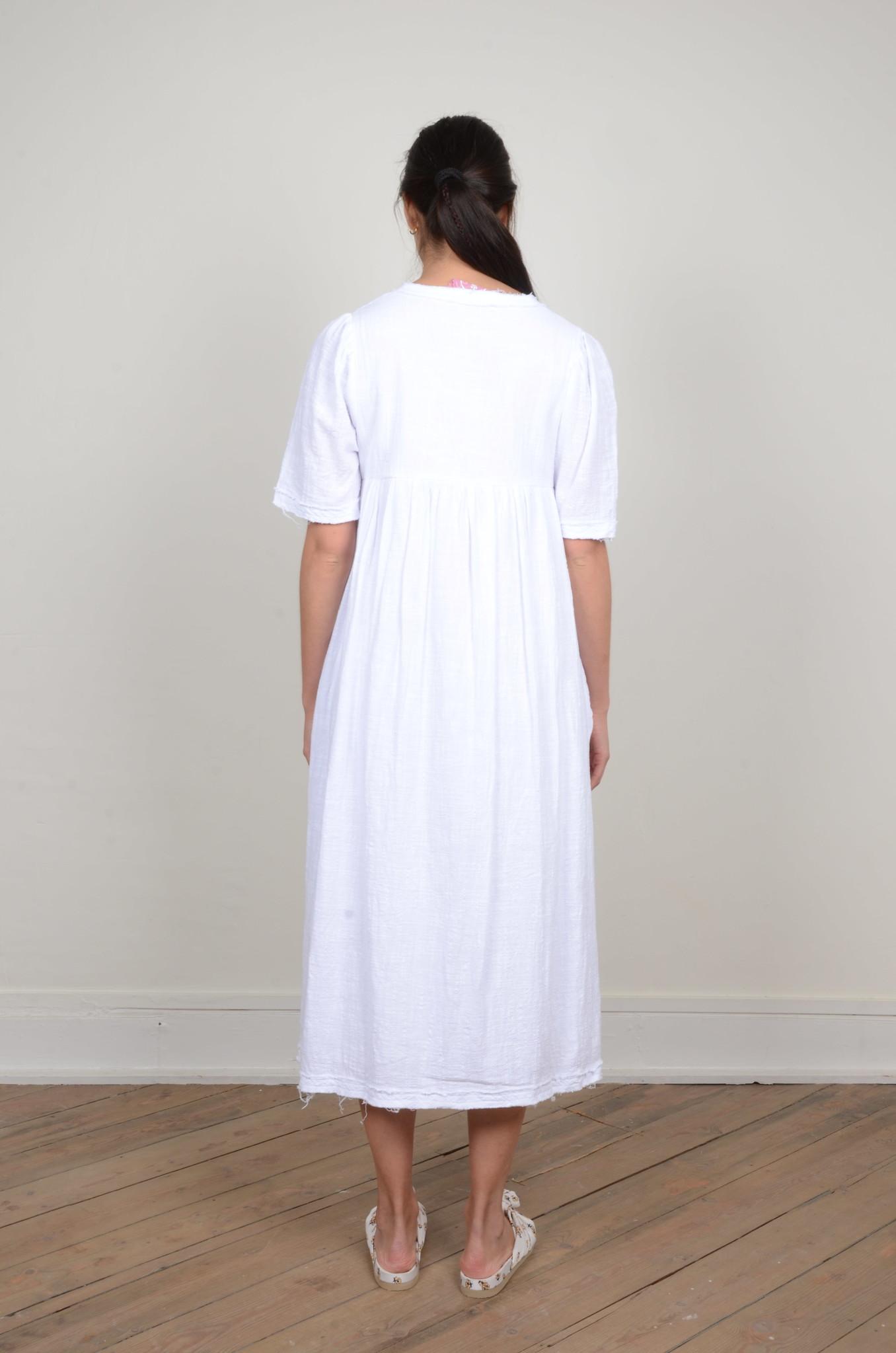 BYRON DRESS WHITE-3