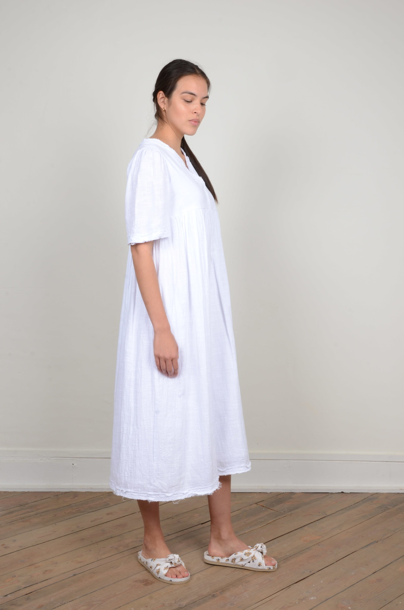 BYRON DRESS WHITE-4