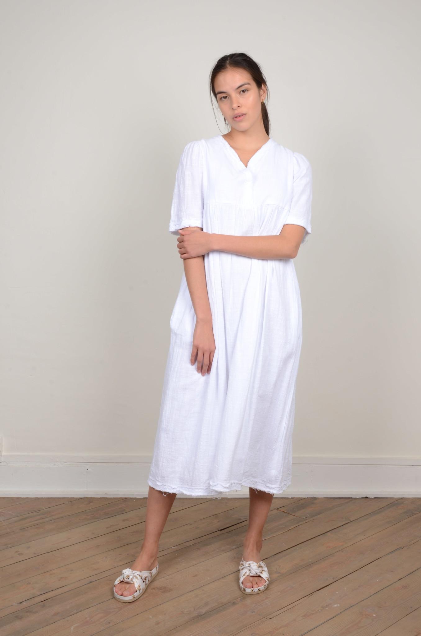 BYRON DRESS WHITE-5