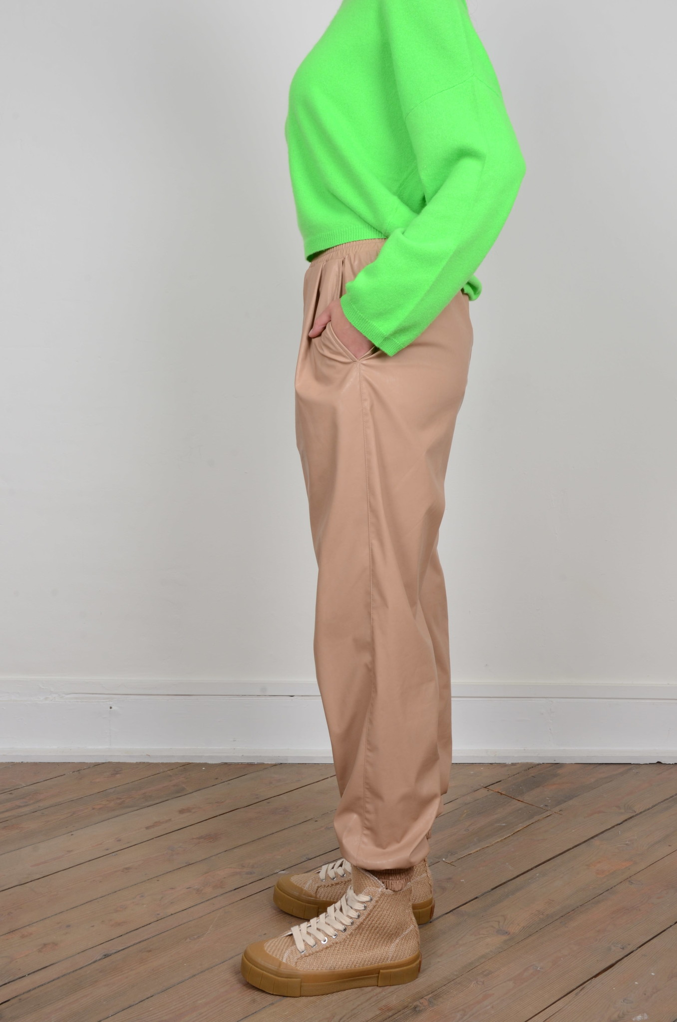 FAUX LEATHER JOGGERS-2