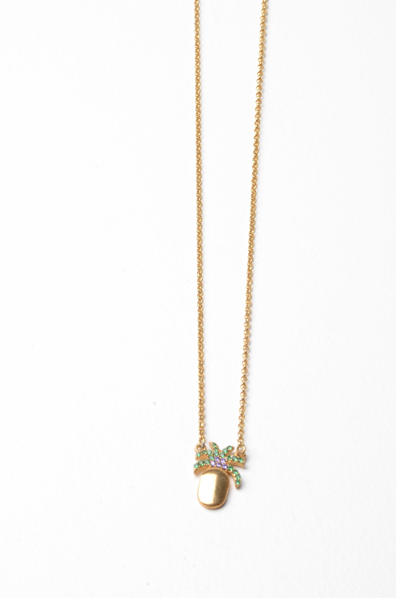 PINEAPPLE NECKLACE-1