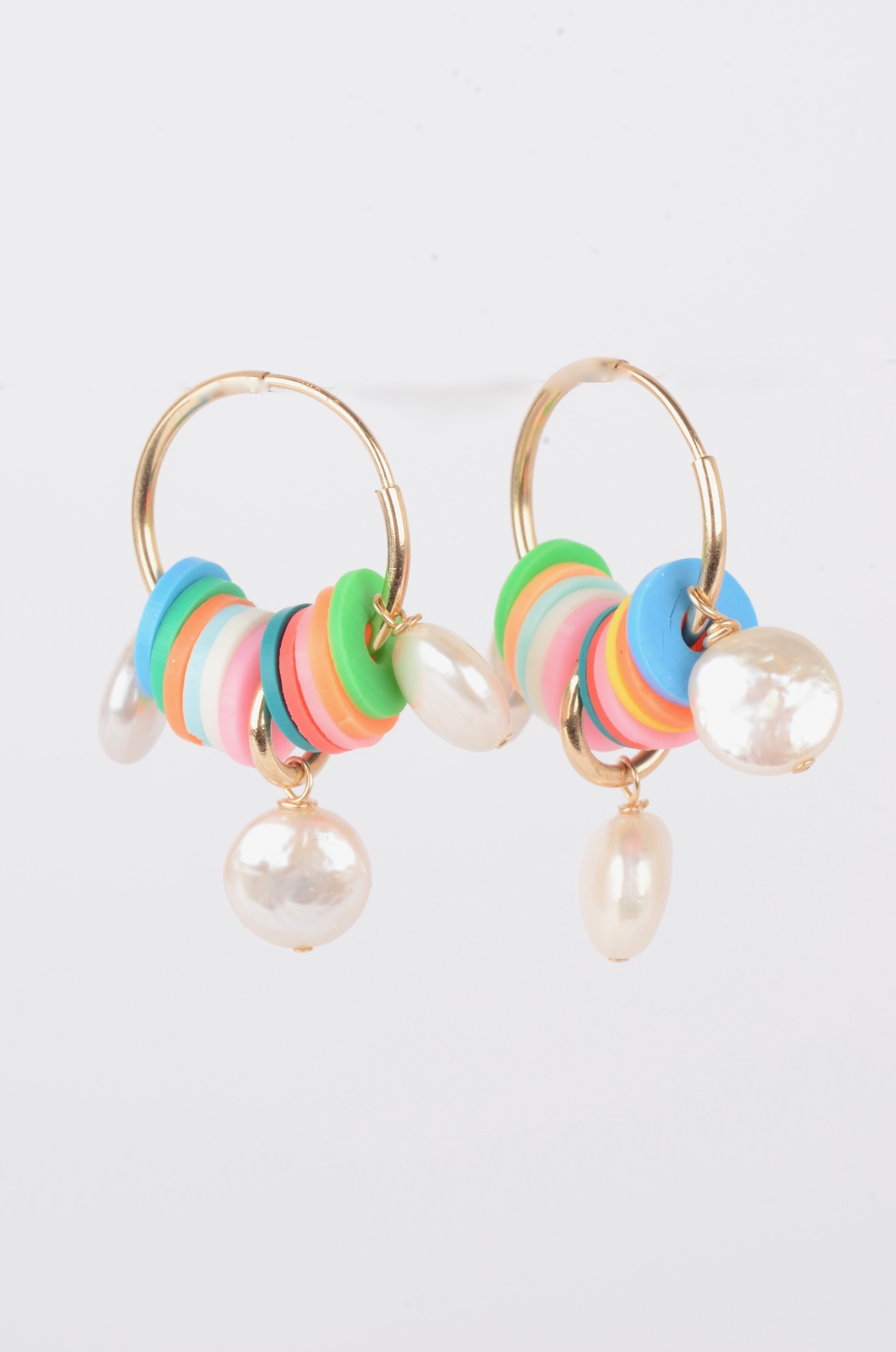 VINYL AND MOTHER OF PEARL HOOPS-1