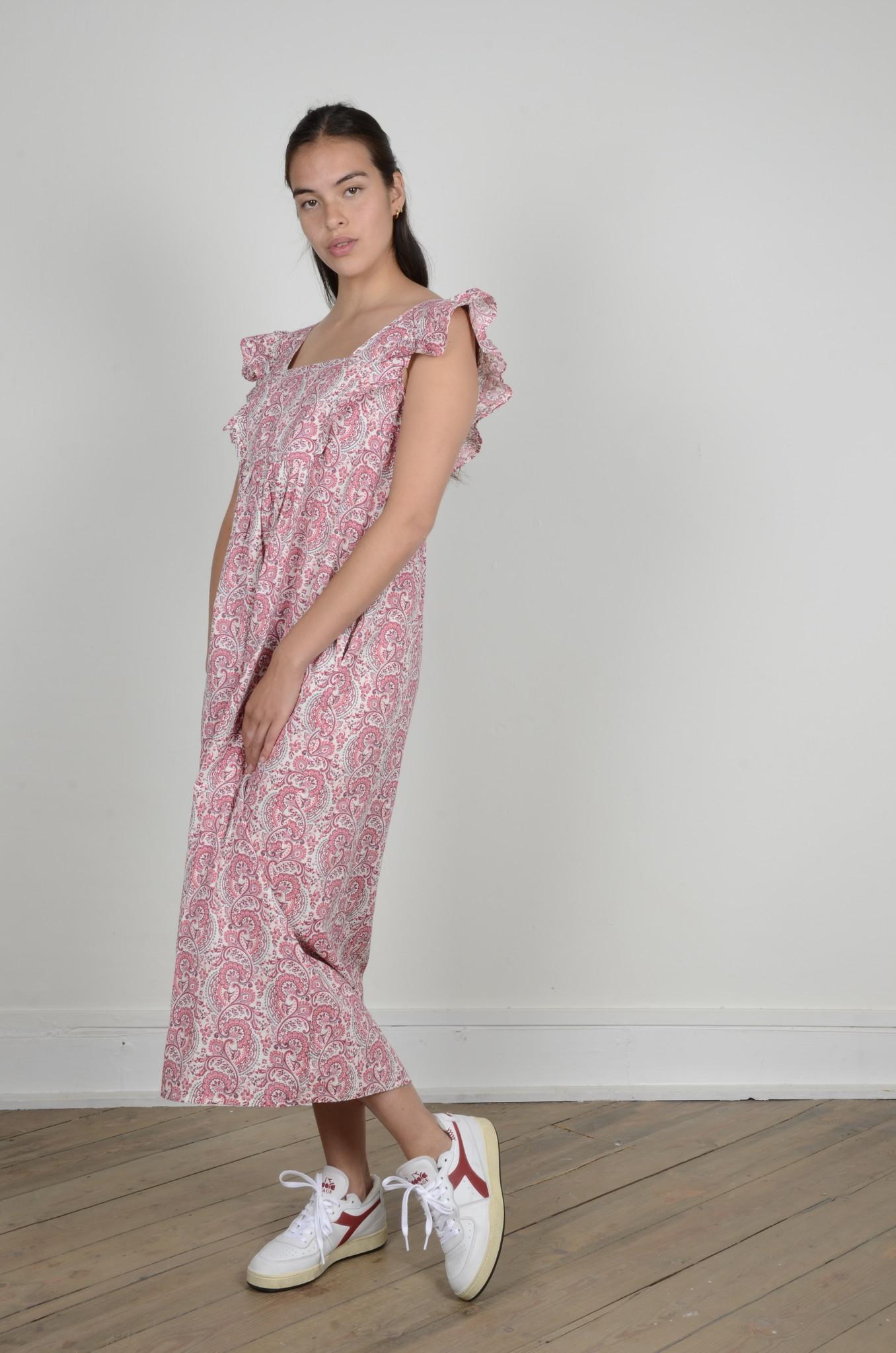LAYLA PAISLEY DRESS-2