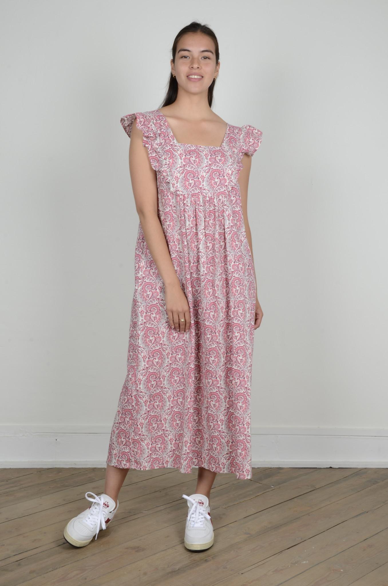 LAYLA PAISLEY DRESS-1